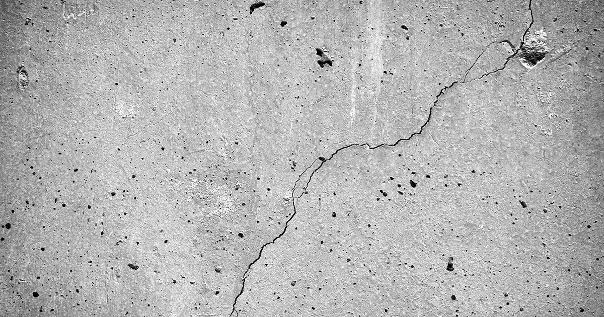 Fissures béton