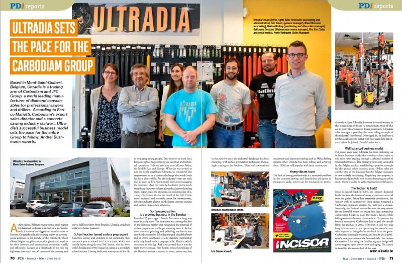 Ultradia, une équipe dynamique